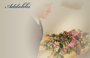 Addobbi floreali agenzia funebre